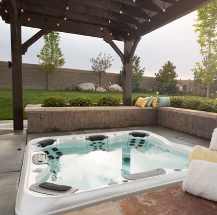 A Bullfrog Spa from Dolphin Pools & Spas